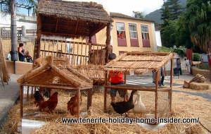Country village Icod el Alto of Los Realejos.