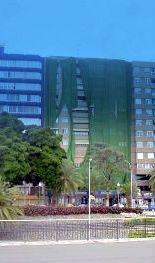 Building  near Plaza de Espana