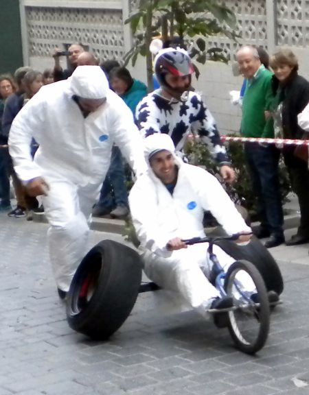 craziest vehicle racing tricycle for carnival