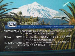 Cristaleria Puerto de la Cruz your locksmith and much more