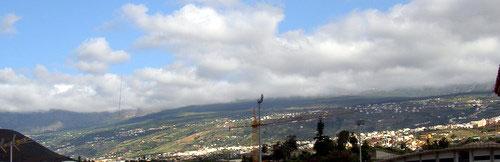Area Los Realejos Alto toward La Orotava valley