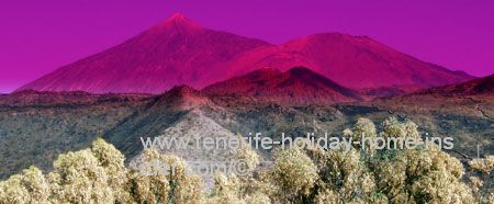 Cubism art in nature by Mount Teide