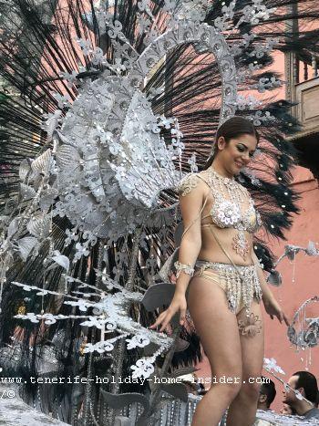 Dama de honor del Puerto de la Cruz Carnaval de 2019