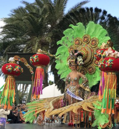 Dame of Honor of Carnival 2019 Puerto de la Cruz