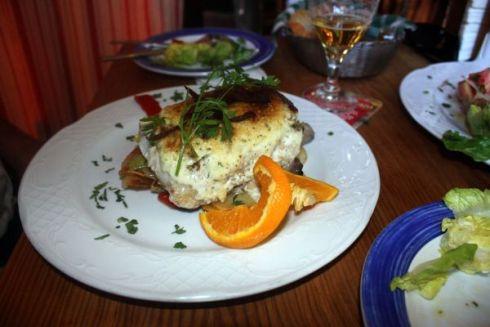 Most delicious cod fish at Taberna Ramon on the Rambla.