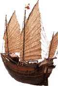 Old sailing ship  similar to whaler watcher Los Gigantes
