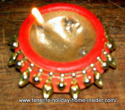 Dewali light home Indian made handicraft