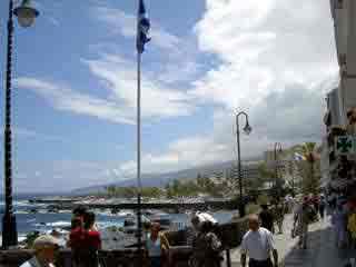 Waterfront Puerto de la Cruz.