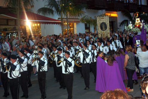 Easter March band Puerto de la Cruz.