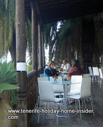 Eating out in Tenerife at Casa Lercaro Kiu center