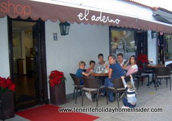 El Aderno designer sweets shop La Paz Tenerife