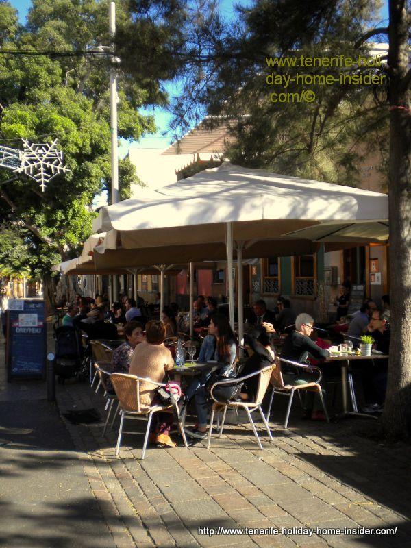El Lagar de la Noria restaurant of Santa Cruz de Tenerife