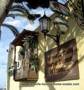El Limonero Garachico Artesanta shop by beachfront