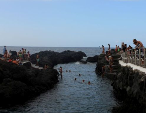 El Limonero Tenerife shopping by Garachico  rock pools at the famous Caleton