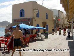 El Medano Promenade Paseo Marcial Garcia