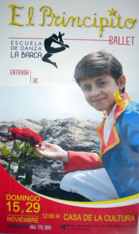 El Principito ballet show by La Barca of Longuera