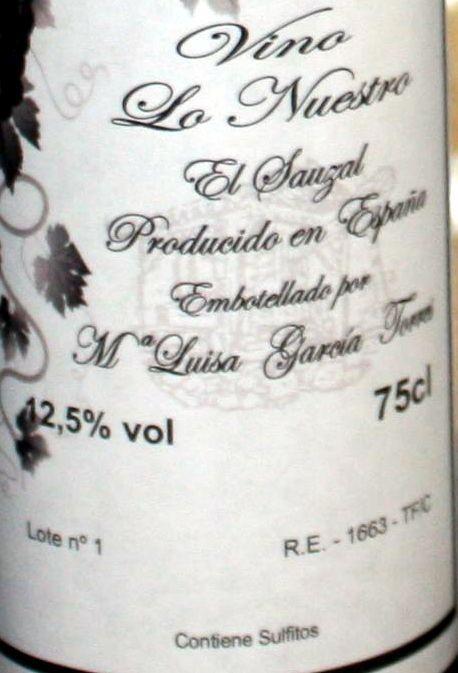 El Sauzal Wine seen at El Sauzal Market.