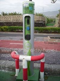 Electric car charge points in Tenerife