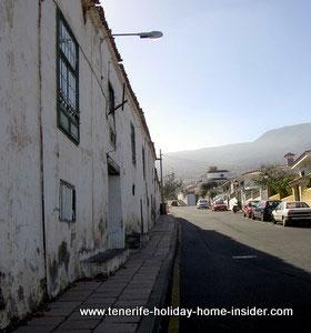 Environmental issue La Gorvorana Tenerife Spain.