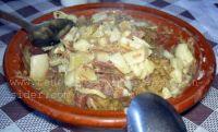 Escaldon de Gofio stew