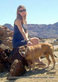 Excursion to Montana Blanca Tenerife with dog