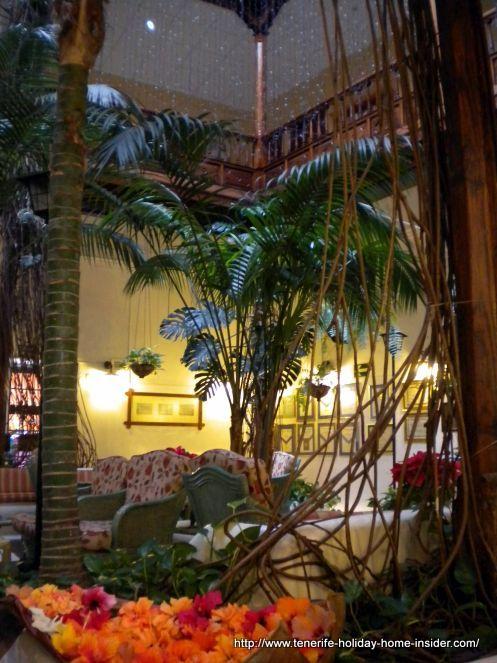 Exotic hotel of Tenerife history