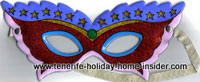 Eye mask Colombana Carnival mask