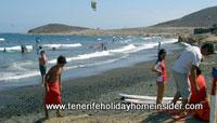Family holidays El Medano beach Playa Grande Tenerife