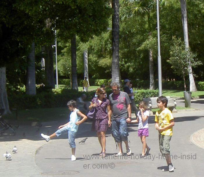 Family park of Santa Cruz
