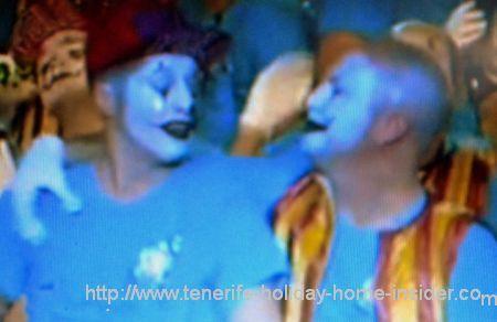 Fantasmas de carnaval Tenerife
