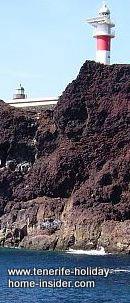 Faro Punta de Teno a Teno lighthouse by Los Gigantes