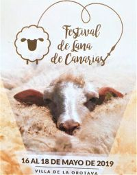 Festival de la Lana de Canarias in La Orotava from May 16 to May 18, 2019