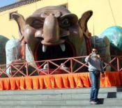 Festival del Cuento street art El Ogro