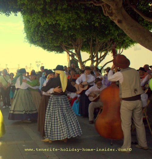 Fiesta de la Cruz Realejos Tenerife