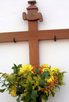 Fiesta de Mayo Icon Tenerife Flower cross icon