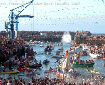 Fiesta del Carmen Puerto de la Cruz Tenerife