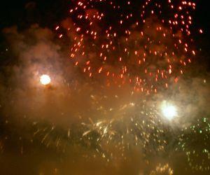 Fireworks shows Fiesta la Cruz Los Realejos