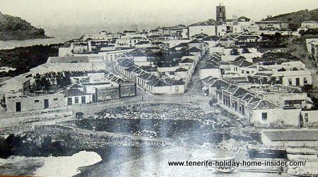 First Tenerife harbor Garachico until 1706