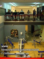 Fitness Center gymnastics weightlifting