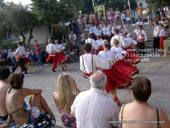 Enlarged version of Tenerife international dance festival El Medano photo.