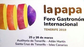 Foro Gastronon La Papa International Potato Reunion in Santa Cruz in March 2018