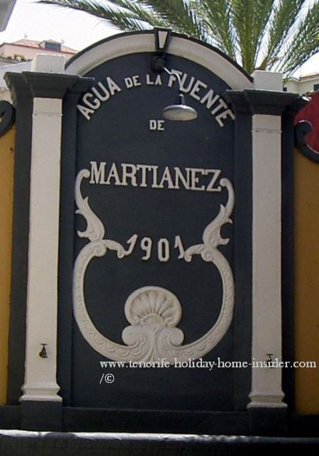 Fountain Martianez of historical importance thanks to Valois traders