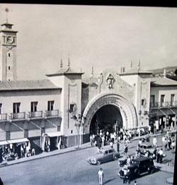 Franco era scene in Tenerife capital