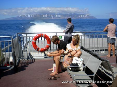 Fred Olsen Ferry  My trip October 2014 from La Gomera