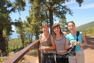 French girls in Tenerife Canadas