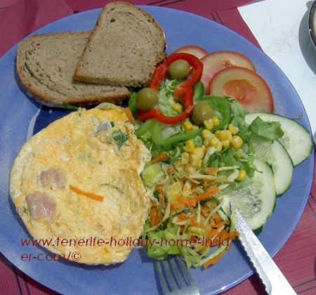 French Omelet of Cafe Vista Paraiso