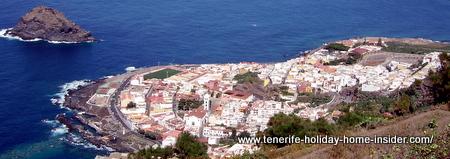 Garachico town of Tenerife