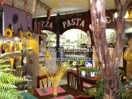 Garden restaurant theme Los Realejos