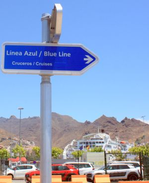 Getting to Tenerife cruisers or ferries, such as Fred Olsen or Navieras Armas.