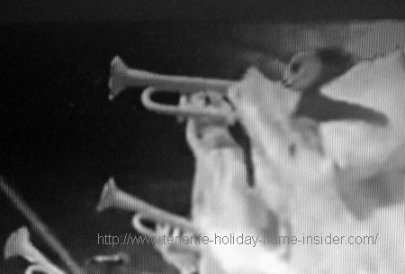 ghosts with trumpets
